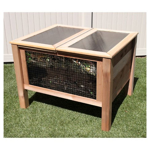 "36""x45"" Air Assist Composter - Red Cedar - Gronomics - image 1 of 3"