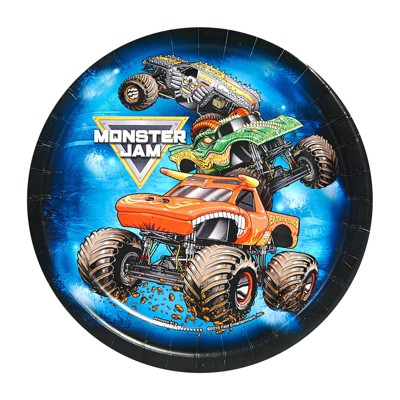Monster Jam 8ct Dessert Plate