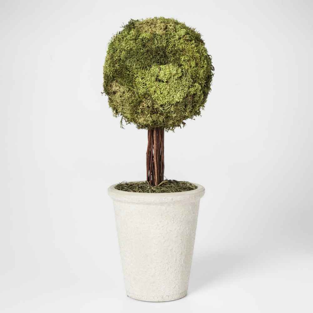Moss Topiary Large - Smith & Hawken, Green