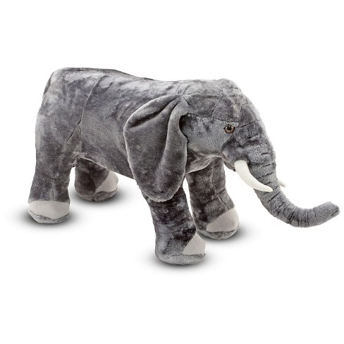 Melissa Doug Giant Elephant Lifelike Stuffed Animal Over 3