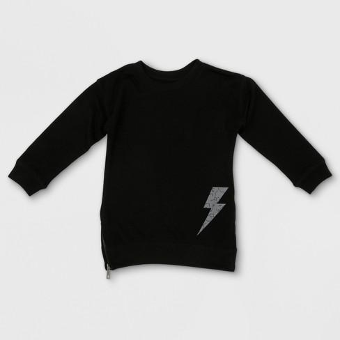 Toddler Boys Afton Street Starmap Bolt Long Sleeve Sweatshirt
