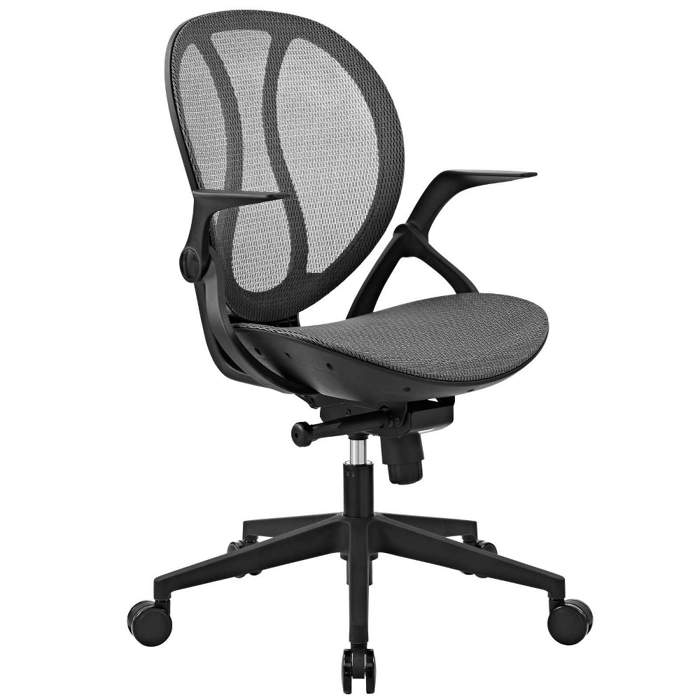 Conduct Mesh Office Chair Gray - Modway