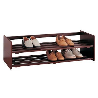 Neu Home Shoe Rack Brown