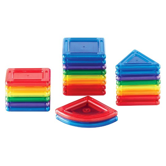 Guidecraft PowerClix Solids 24 Piece Set image number null