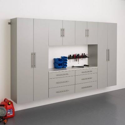 "6pc 120"" Hangups Storage Cabinet Set - Prepac"