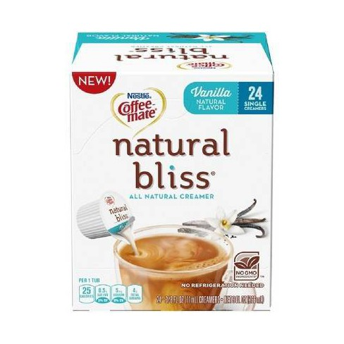 Coffee Mate Natural Bliss Vanilla Creamer - Single Serve Pods - 24ct - image 1 of 1