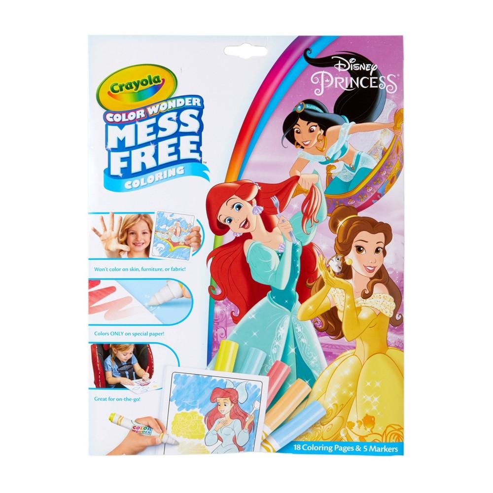 Crayola Color Wonder Coloring Kit Disney Princess White