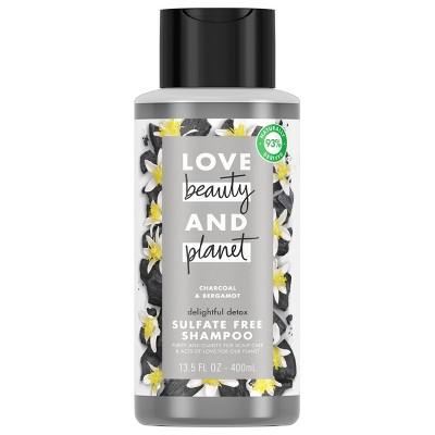 Love Beauty and Planet Delightful Detox Charcoal Shampoo - 13.5 fl oz