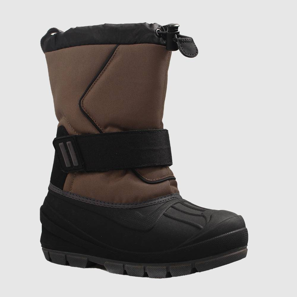 Image of Boys' Cordie Winter Boots - Cat & Jack Brown 1