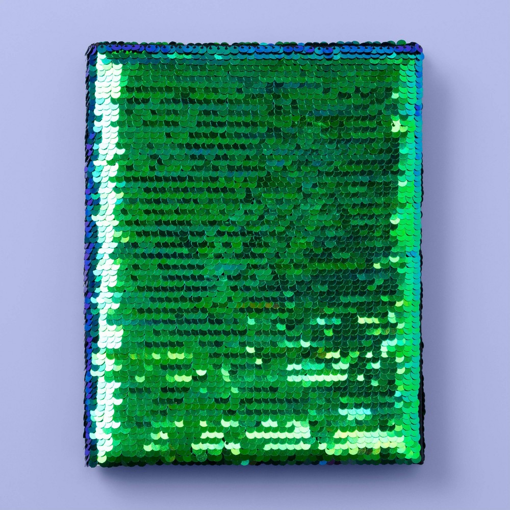 """Image of """"6"""""""" x 8"""""""" Flip Sequin Notebook - More Than Magic"""""""