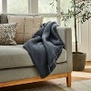 Boucle Faux Mohair Throw Blanket - Threshold™ designed with Studio McGee - image 2 of 4