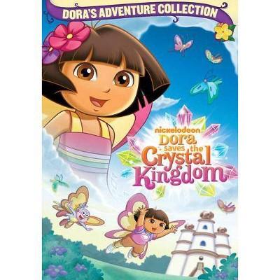 Dora The Explorer: Dora Saves The Crystal Kingdom (DVD)(2012)