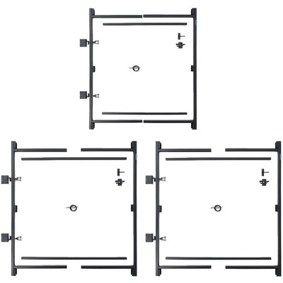 "Adjust-A-Gate Gate Building Kit, 60""-96""(2 Pack) w/ Gate Building Kit, 36""-60"""