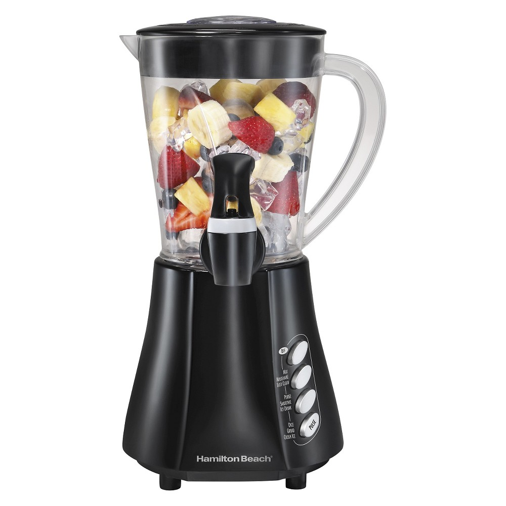 Hamilton Beach Wave Station 48oz. Dispensing Blender – Black 58615 17342718