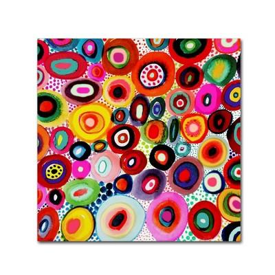 Sylvie Demers Tourbillons Unframed Wall Canvas Trademark Fine Art Target