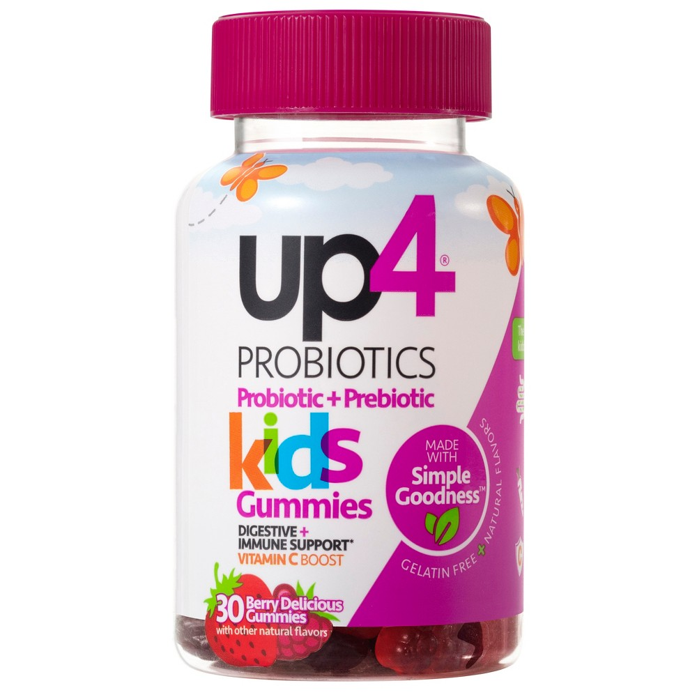 UP4 Kids Probiotic Gummies - Berry Delicious - 30ct