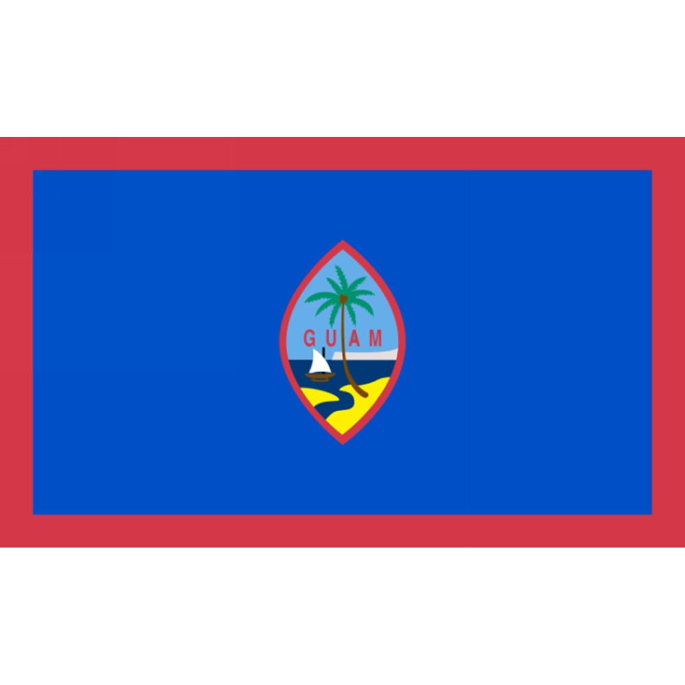 Image of Halloween Guam Flag - 3' x 5', flags
