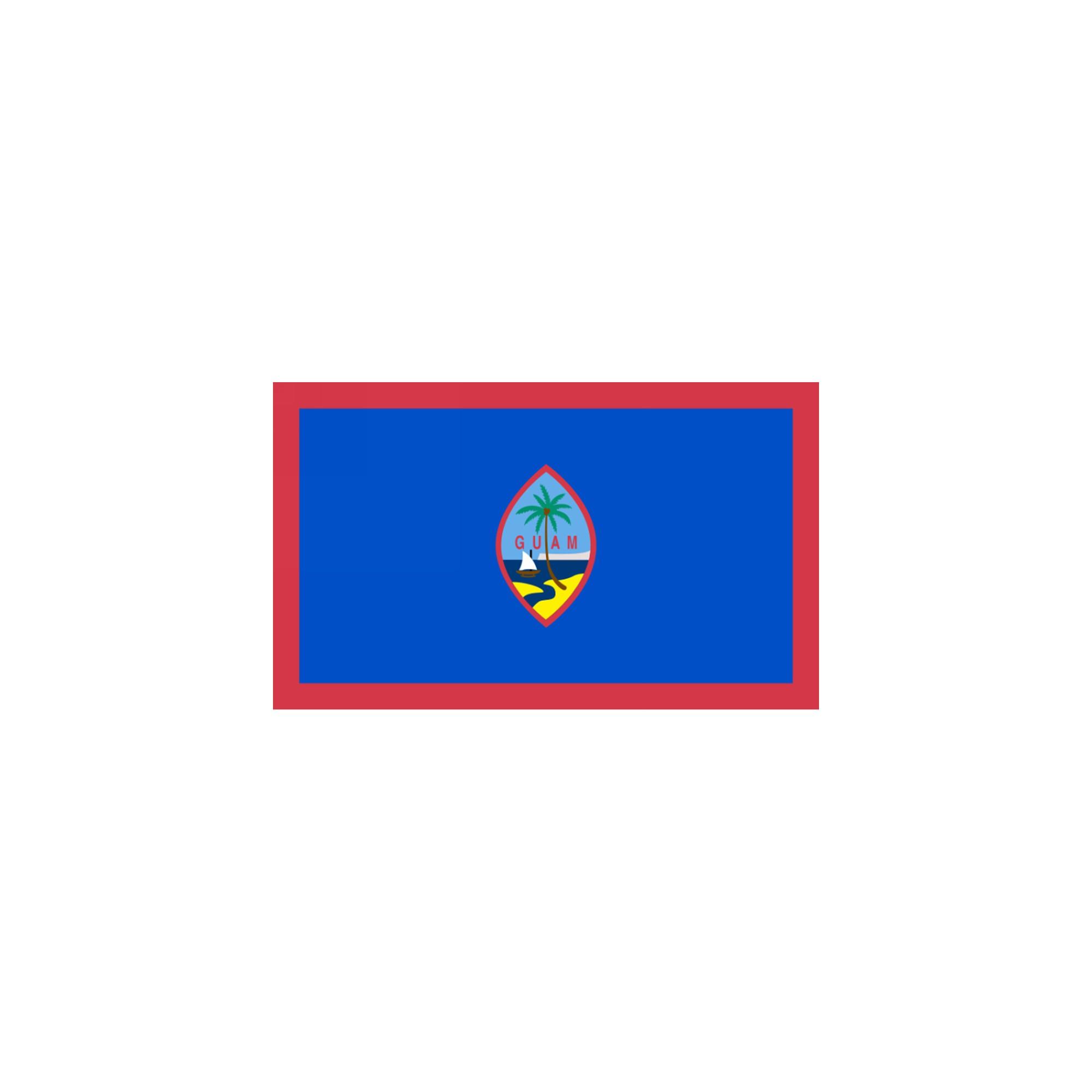 Halloween Guam Flag - 4' x 6', flags