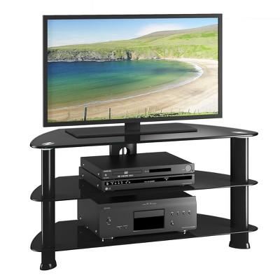 Corner Tv Stand CorLiving Black