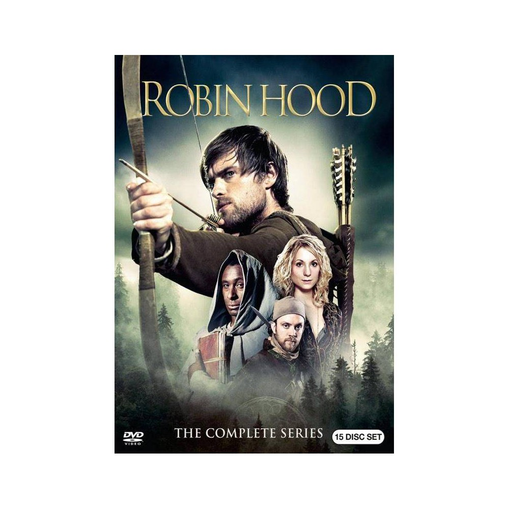 Robin Hood The Complete Series Dvd