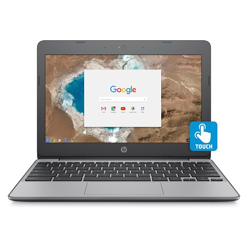 "HP 11.6"" Touchscreen Chromebook, 11+ Hour Battery, Only 2.62lbs, 2yr Google Cloud Storage 100GB (11-V032NR)"
