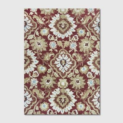 Jacobean Floral Tufted Rug - Threshold™