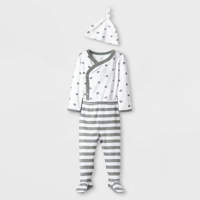 Baby Take Me Home Layette set - Cloud Island™ True White Newborn