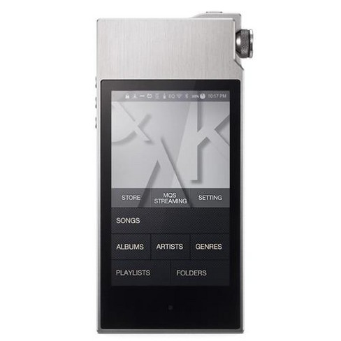 Astell&Kern AK120 II Portable High Definition Sound System, Stone Silver - image 1 of 1