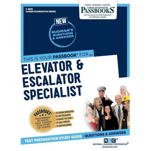 Elevator and Escalator Specialist - by  National Learning Corporation (Paperback) - image 1 of 1