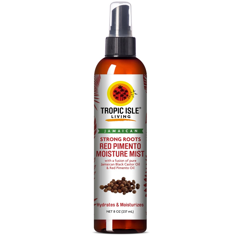 Image of Tropic Isle Living Jamaican Strong Roots Red Pimento Moisture Mist - 8oz