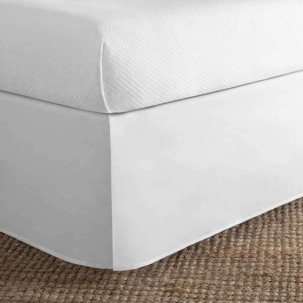 Image of Today's Home California King Cotton Rich Bed Skirt White