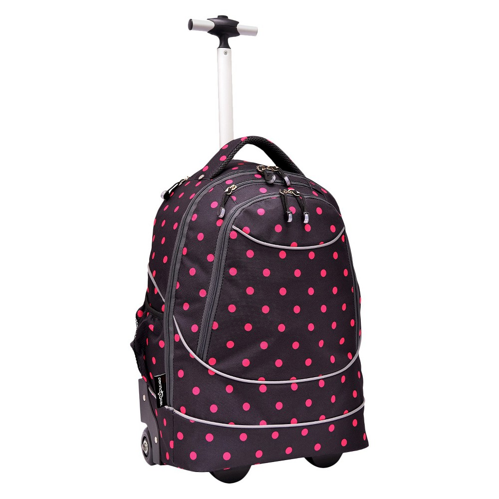 "Image of ""Pacific 20.5"""" Gear Horizon Rolling Laptop Backpack - Red/Black"""