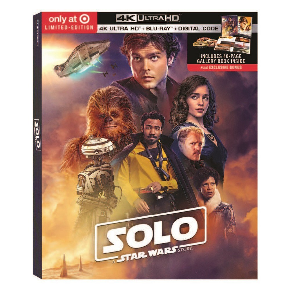 Solo: A Star Wars Story (Target exclusive) (4K/Uhd + 2 Bl...