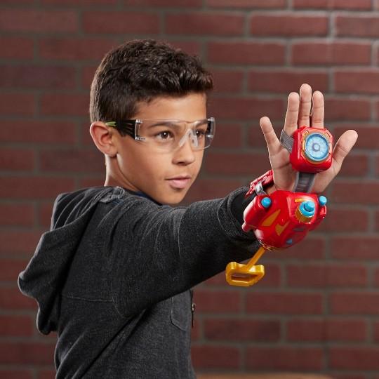 NERF Power Moves Marvel Avengers Iron Man Repulsor Blast image number null