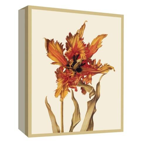 "Sunburst Flower Decorative Canvas Wall Art 11""x14"" - PTM Images - image 1 of 1"