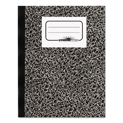 National Composition Book Wide/Margin Rule 7 7/8 x 10 White 80 Sheets 43460