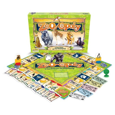 Zoo opoly Game - image 1 of 1