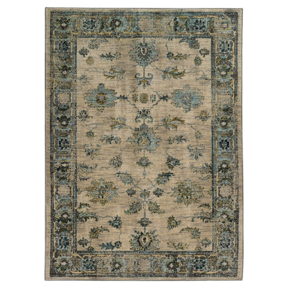 Blue Skye Lynn Area Rug 7'X10' - Oriental Weavers, Multicolored