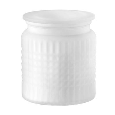 Devon Cotton Ball Jar White - Allure Home Creations