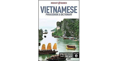 Insight Guide Vietnamese Phrasebook & Dictionary (Bilingual) (Paperback) - image 1 of 1