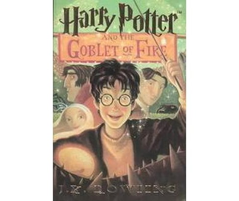 Harry Potter and the Goblet of Fire (Large Print) (Paperback) (J. K. Rowling) - image 1 of 1