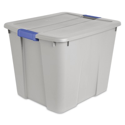 Latch Tote Cement 20gal Gray - Room Essentials™