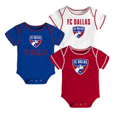 Youngest Fan 3pk Body Suit Set FC Dallas 0-3 M