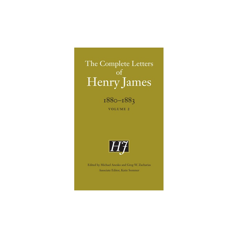 Complete Letters of Henry James 1880-1883 (Vol 2) (Hardcover)