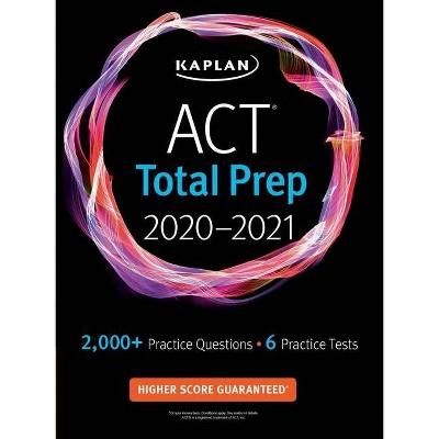 ACT Total Prep 2020-2021 - (Kaplan Test Prep) (Paperback)