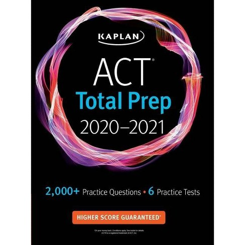 ACT Total Prep 2020-2021 - (Kaplan Test Prep) (Paperback) - image 1 of 1