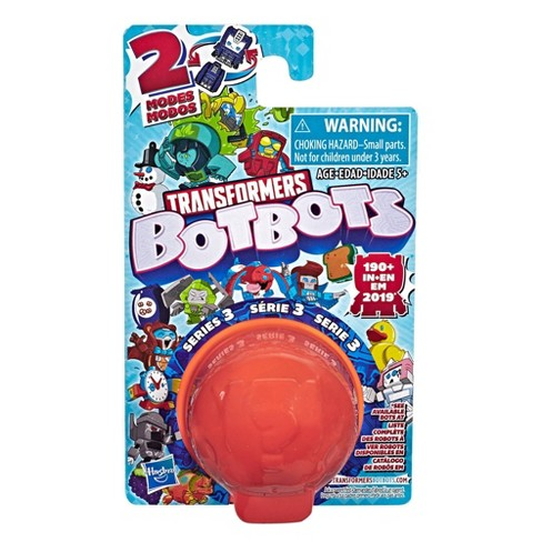 Transformers BotBots Series 3 Collectible Blind Bag Mystery Figure - Surprise 2-In-1 Toy - image 1 of 4