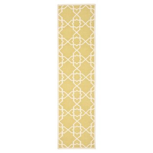 "Tahla Dhurry Rug - Olive/Ivory - (2'6""x8') - Safavieh - image 1 of 4"