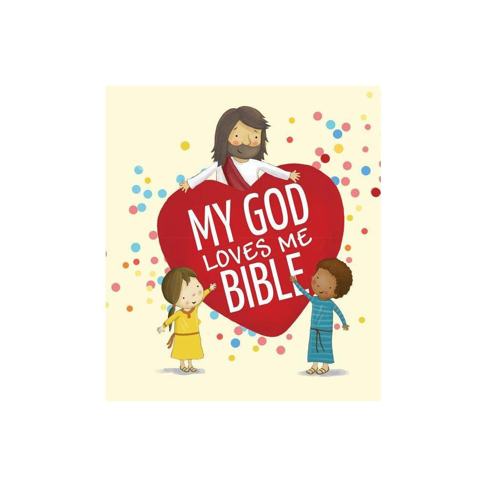 My God Loves Me Bible - by Cecilie Fodor (Board Book)
