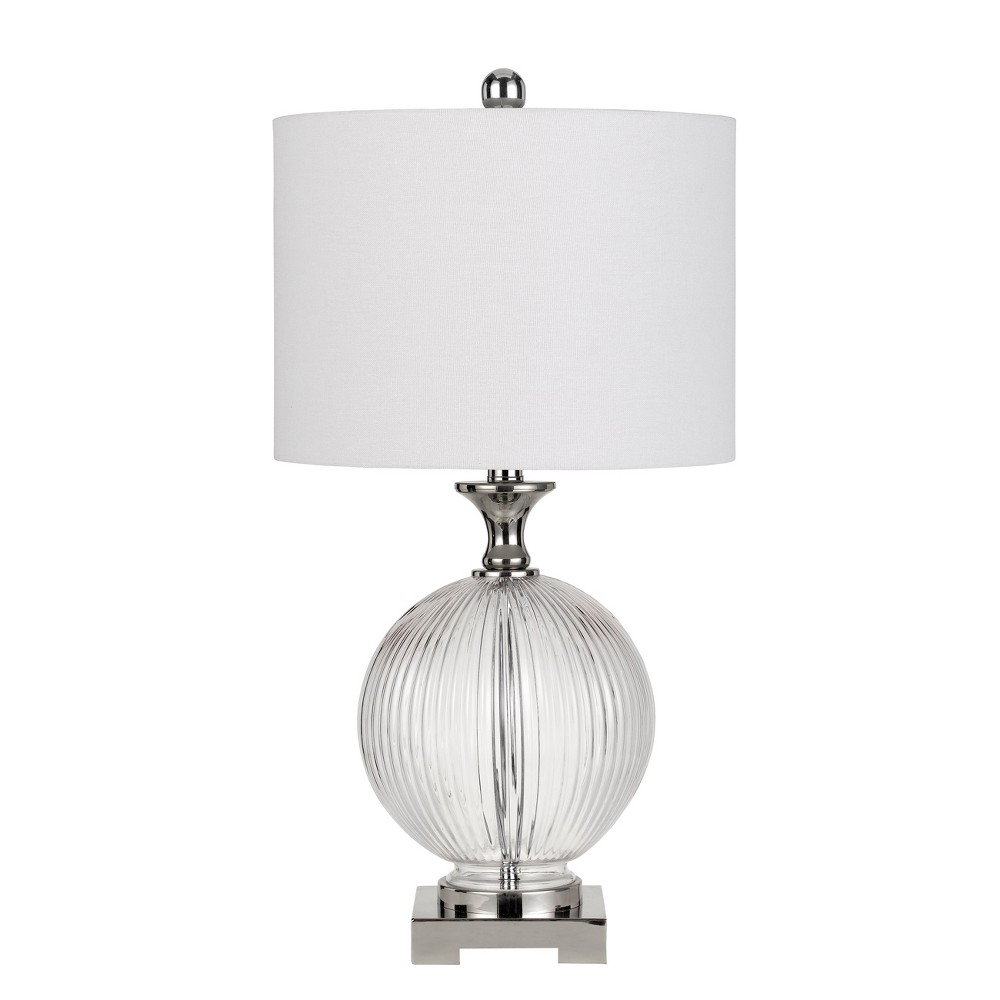 Image of 150W 3 Way Avellino Glass Table Lamp (Priced And Sold In Pairs) (Lamp Only) - Cal Lighting
